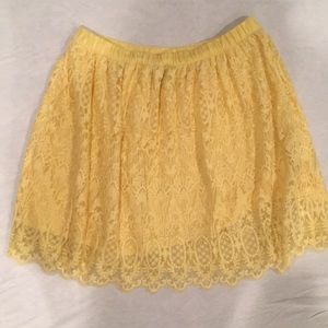 Yellow skirt from H&M
